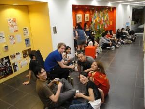 Partido de España en Tokio
