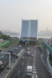 Tunel bajo la bahía de Tokio