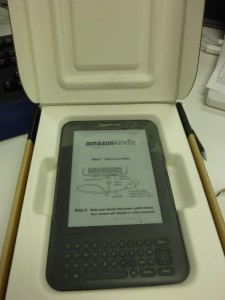 Kindle 3 generación